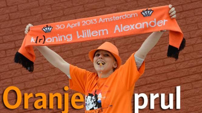 Oranjeprul van de dag: 'Koninginnedag is zó 2012'- shirts