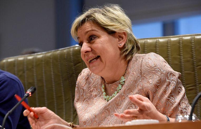 Katia Segers (sp.a). Beeld Photo News