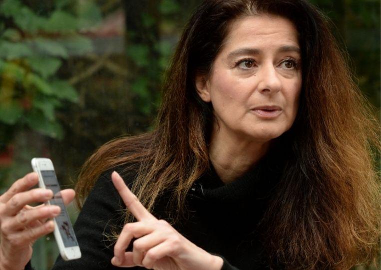 Corinne Vella: 'De neergang van de regering zoals we die nu zien, is een rechtstreeks gevolg van het werk van mijn zus.' Beeld