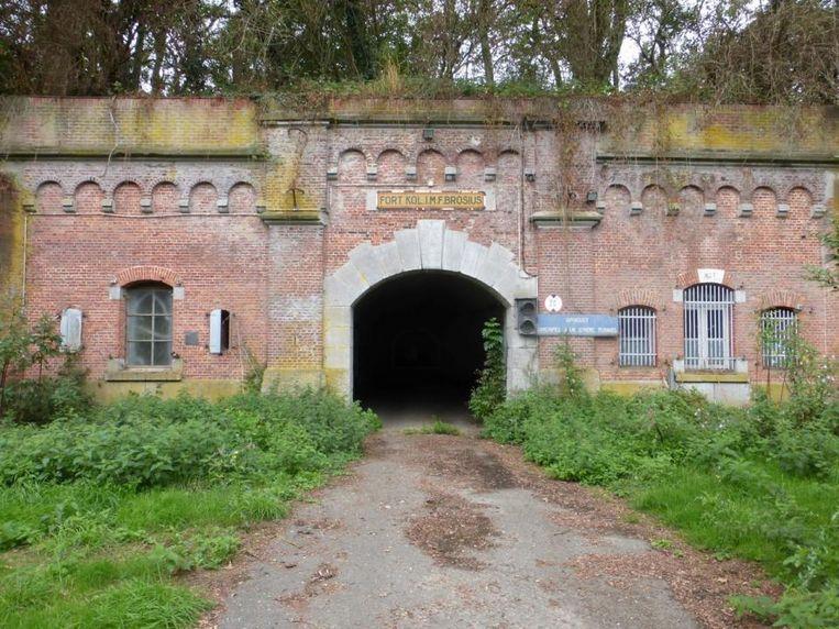 Fort Brosius in Zwijndrecht. Beeld RV