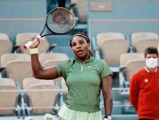Serena Williams kent geen problemen met Roemeense Buzarnescu en stoot door naar derde ronde Roland Garros