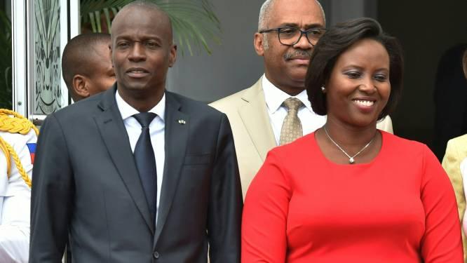 """Weduwe van vermoorde Haïtiaanse president: """"We moeten zijn gevecht voortzetten"""""""