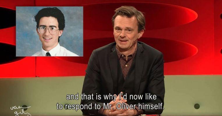 Lieven Van Gils dient John Oliver van antwoord.