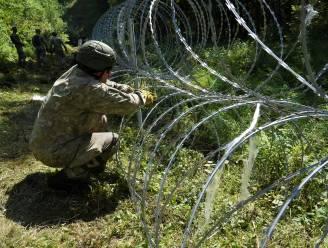 Litouwen bouwt muur aan grens met Wit-Rusland, prikkeldraad ligt al