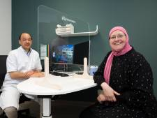 Diantha eerste patiënt nieuwe Orthopedisch Centrum