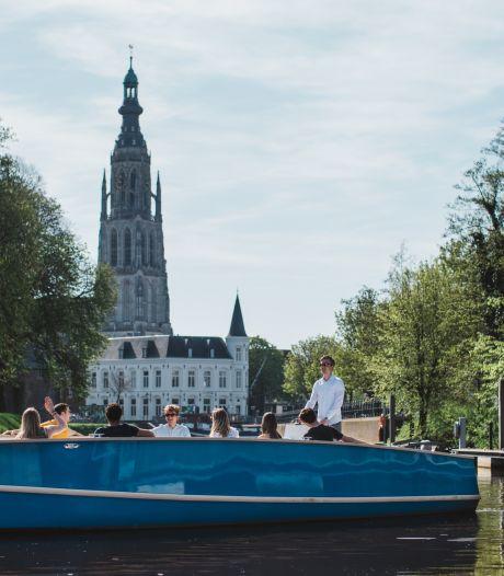 Nieuwe rondvaartboten in Bredase singels zijn elektrisch, stil en schoon