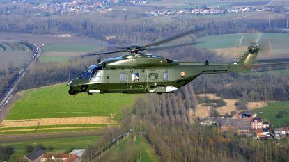 Eerste missie nieuwe legerhelikopter