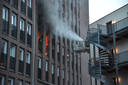Brand in appartementencomplex aan Markendaalseweg