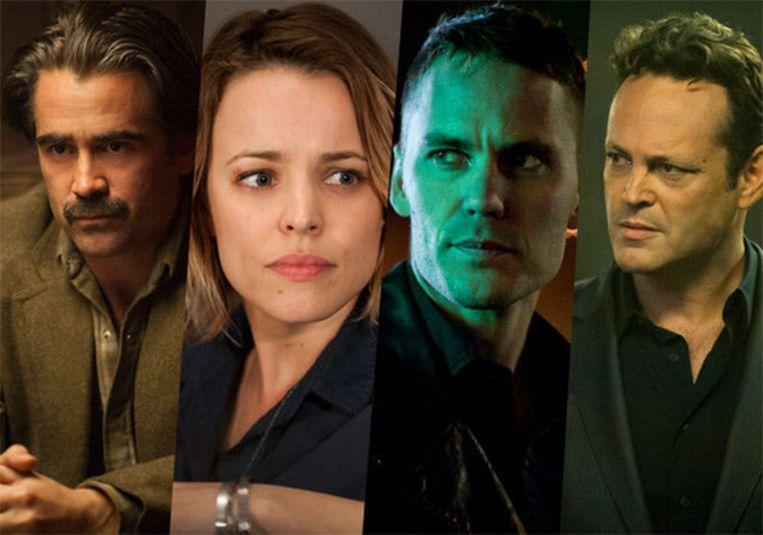 Colin Farrrell, Rachel McAdams, Taylor Kitsch en Vince Vaughn moeten een weergaloze Matthew McConaughey en Woody Harrelson doen vergeten