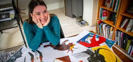 Tilburgs debuutboek: Ieder detail telt als illustrator Djenné 'het Griekse beest' in beeld vangt
