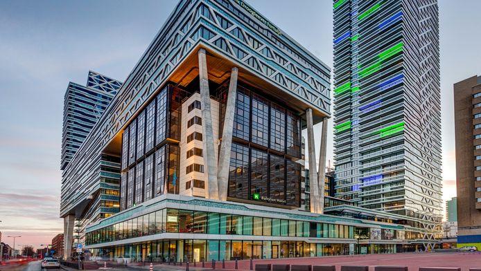 New Babylon in Den Haag. Een investering van 400 miljoen in woningen, kantoren, parkeergarage en een winkelcentrum.
