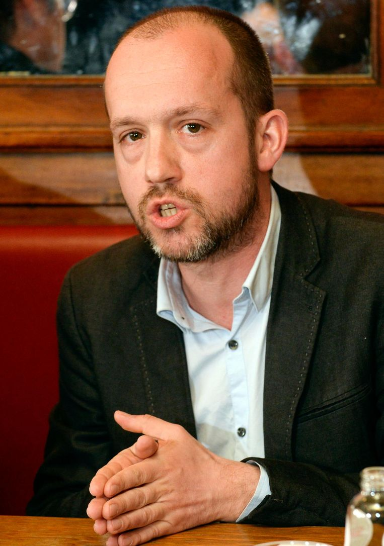 Tom De Meester (PVDA). Beeld Photo News