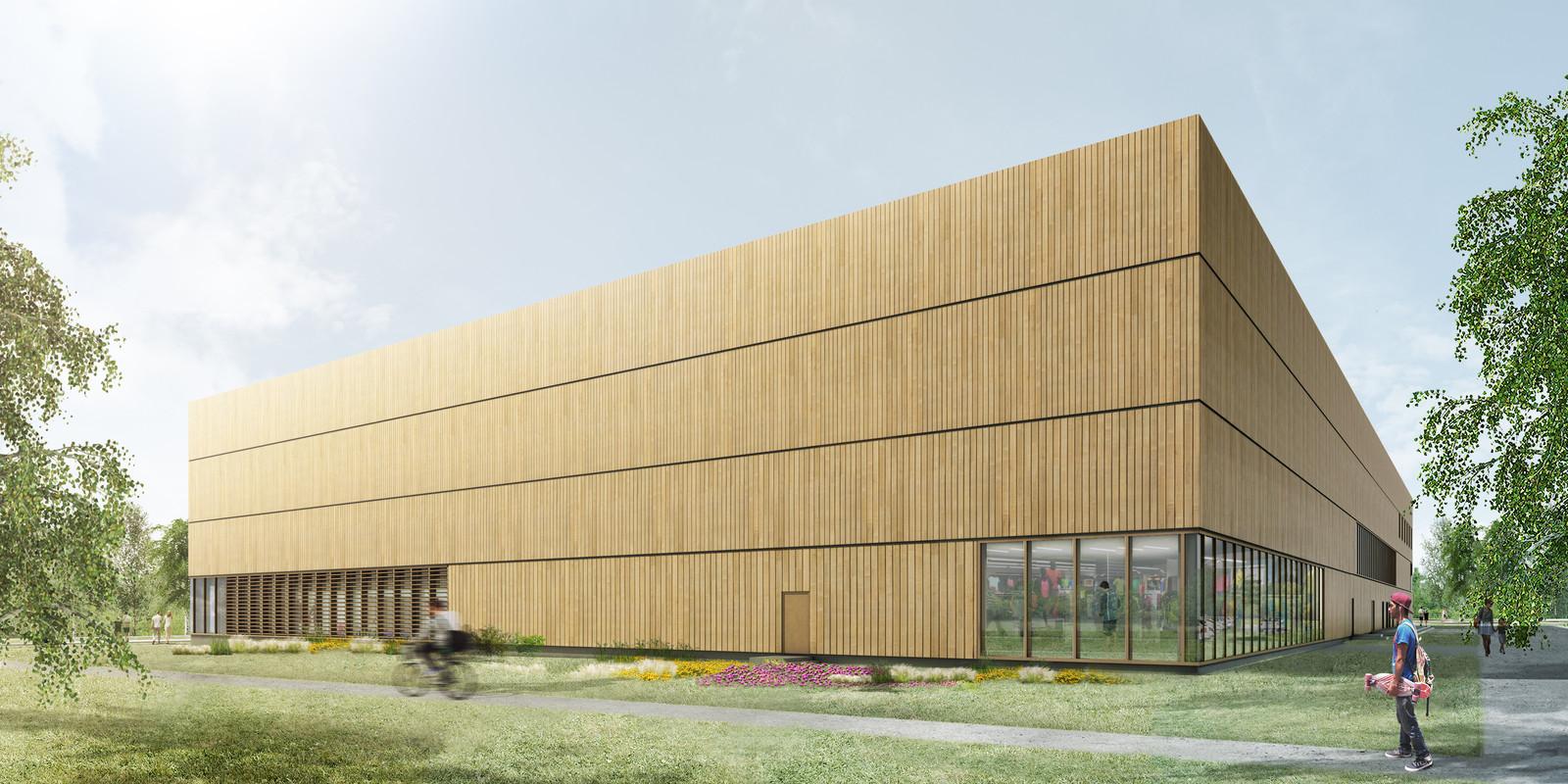 """Sportoase mag nieuw schaatscentrum op Ruggeveld bouwen: """"Er komen niet één, maar twee ijsvloeren"""""""