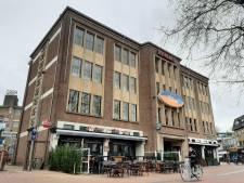 Woningen in pand Laser Sensation aan rand Caterplein Apeldoorn