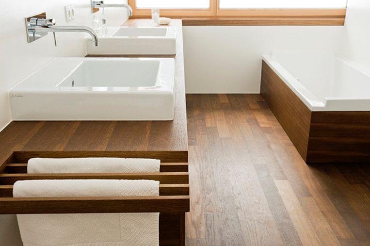 Beroemd Hout voor een gezellige badkamer | Batibouw | Wonen | HLN &EL69