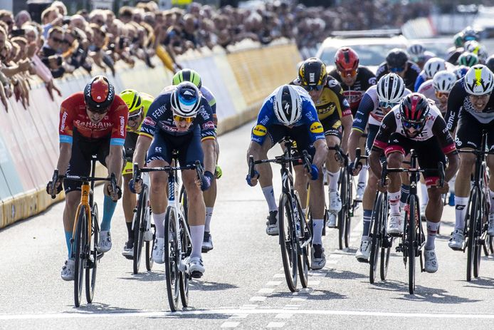 Merlier won eerder al een sprint in de Benelux Tour.