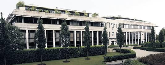 het appartementencomplex in het graafschap Berkhire, waar de zanger een penthouse heeft