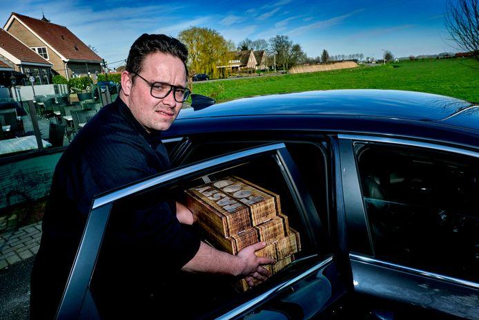 Bjorn Rogmans, eigenaar van restaurant De Krom.