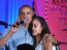 'Met Obama als vader, heeft Malia wel een prima kruiwagen'