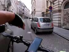 Un cycliste aurait été délibérément heurté par un automobiliste à Bruxelles, une enquête ouverte