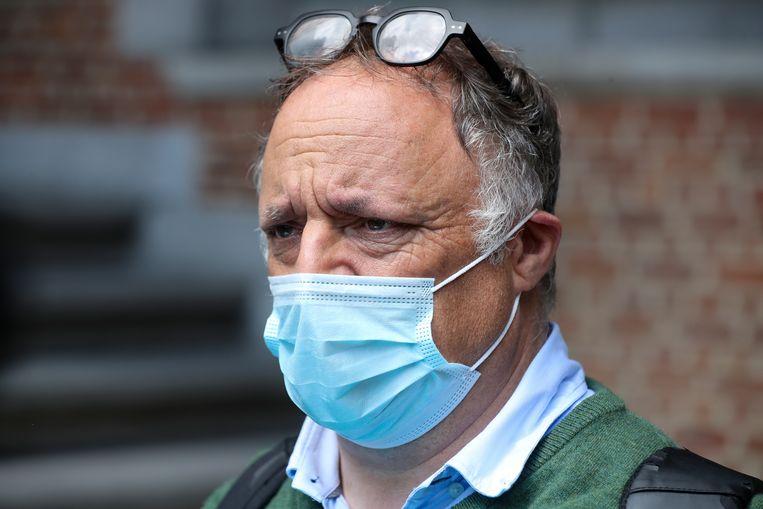 Viroloog Marc Van Ranst Beeld BELGA