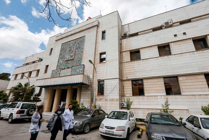 Een ziekenhuis in Damascus, de hoofdstad van Syrië.