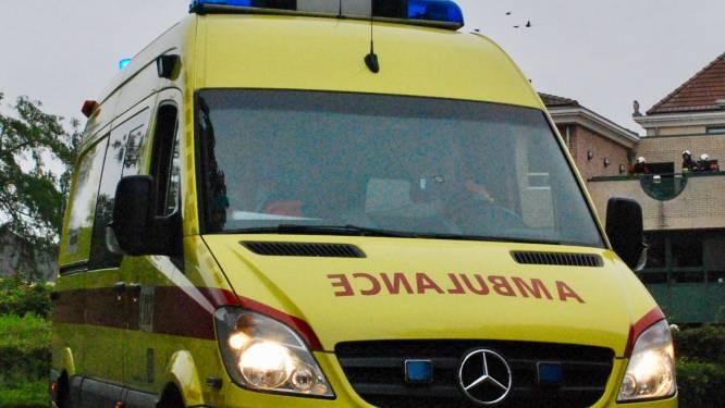 Chauffeur (55) gewond bij kop-staartaanrijding