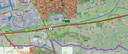 De twee gebieden die in beeld zijn voor maximaal negen windmolens. Gebied 13 ligt dicht bij Bathmen en landgoed de Bannink