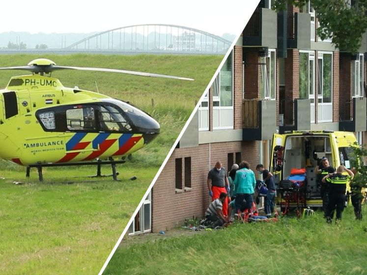 Kind raakt gewond in Arnhem; mogelijk uit flat gevallen