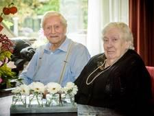 Het vlammetje brandt nog steeds bij 70-jarig huwelijk in Bergeijk