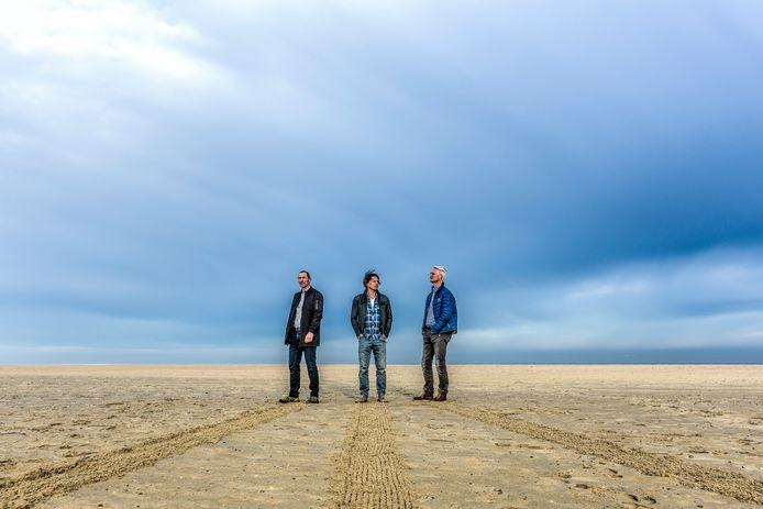 Drie van de initiatiefnemers achter BewuSD (vlnr): René Bosma, Remko Delfgaauw en Ron van Jeveren.