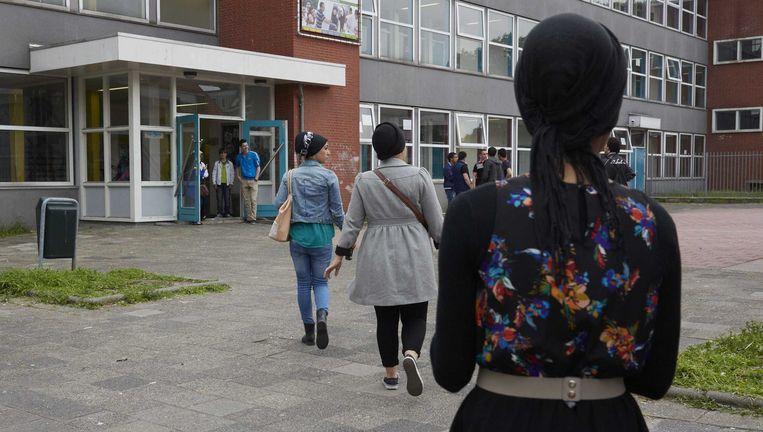 (Archiefbeeld) Een leerkracht islamgodsdienst haalde haar slag thuis bij de Raad van State. Beeld ANP