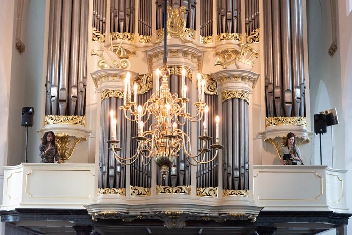 De monumentale Sint-Joriskerk aan de Hof was voor de tweede achtereenvolgende keer decor van een opzienbarend jazzconcert.