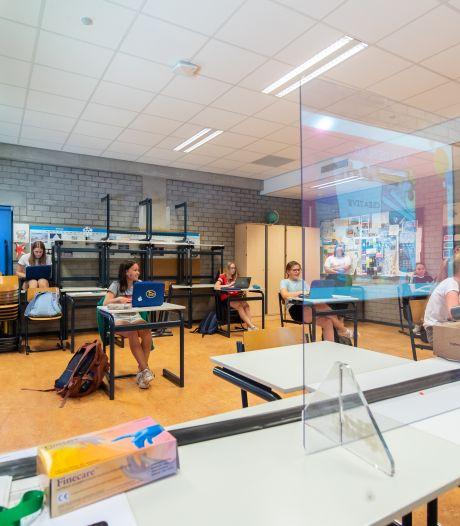 Middelbare scholen in Breda weer open: 'Het voelde bijna als de eerste schooldag'