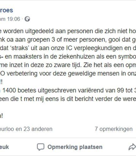 Oproep Nijmegenaar: 'Laat corona-overtreders meebetalen aan de zorg'