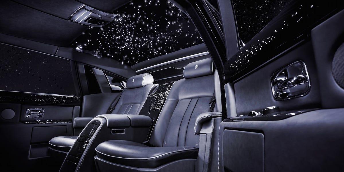 Rolls-Royce sterrenhemel.