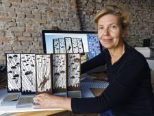 Dungense siert Ginkelse Heide op met kunstwerk voor herdenking luchtlanding '44