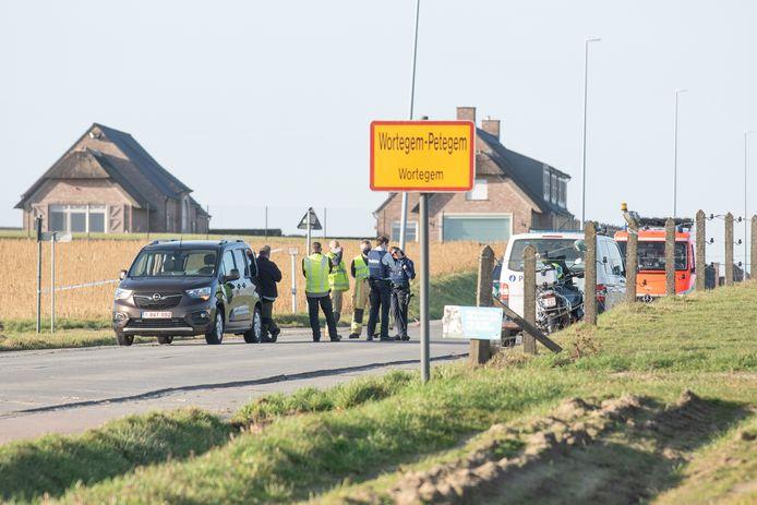 Het ongeval gebeurde op het kruispunt van de Bosstraat met de Zonnestraat.