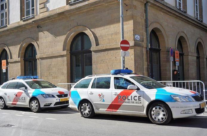 Wagen van de Luxemburgse politie. Foto ter illustratie.