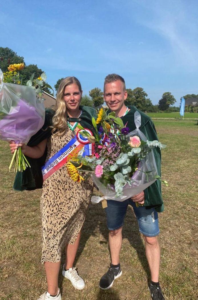 Daniëlle Stoverink en Ruud Westhoff.