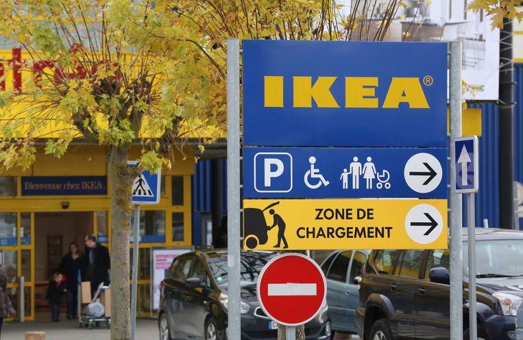 Een Ikea-vestiging in de omgeving van Parijs. Beeld AP