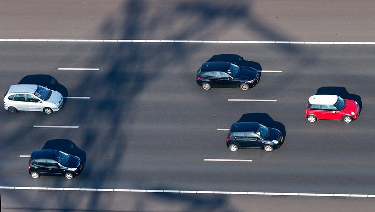 De trajectcontrole op de A2 slingerde vorig jaar bijna 650.000 automobilisten op de bon. Beeld anp