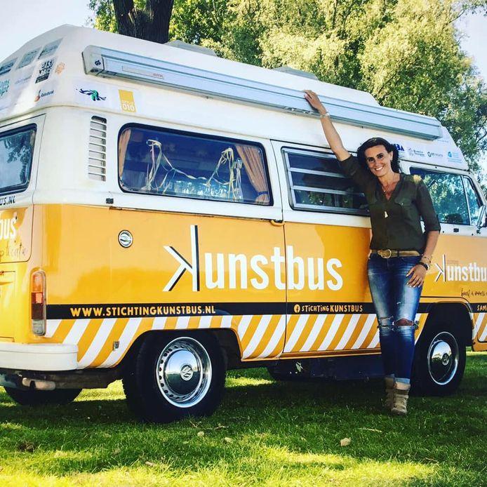 Ankie de Groot had zich voorbereid op een paar drukke maanden met haar Kunstbus.