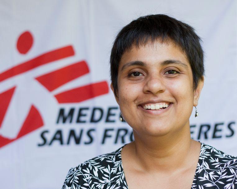 Leena Menghaney van Artsen Zonder Grenzen. Beeld MSF-Access-Campaign