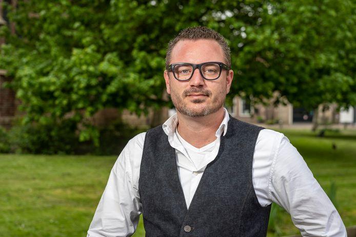 Fractievoorzitter Robbert Lievense van Leefbaar Schouwen-Duiveland.