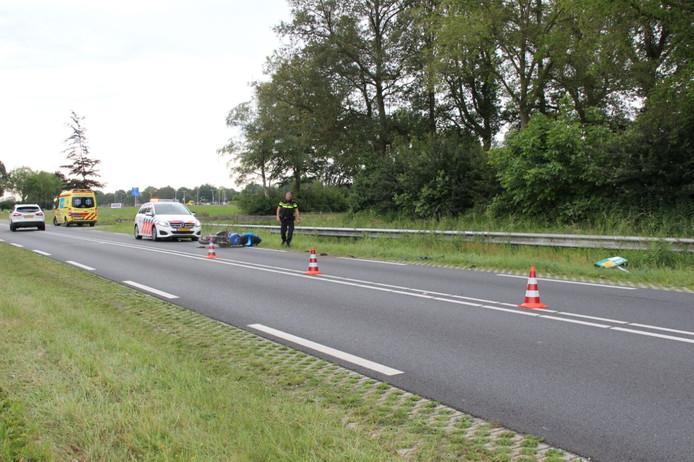Na het ongeval werd een rijstrook van de Heetenseweg/N332 afgesloten.