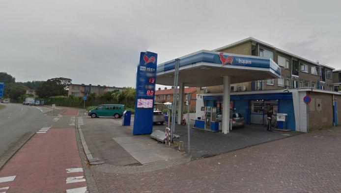 Het tankstation aan de Merwedestraat