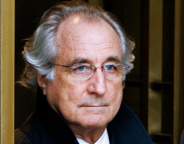 Megafraudeur Bernard Madoff, foto uit 2009. Beeld REUTERS