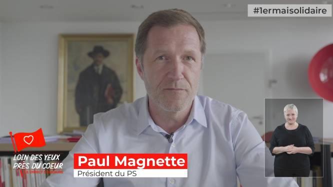"""Paul Magnette s'est adressé aux ex-mineurs de Marcinelle """"per la festa del lavoro"""""""