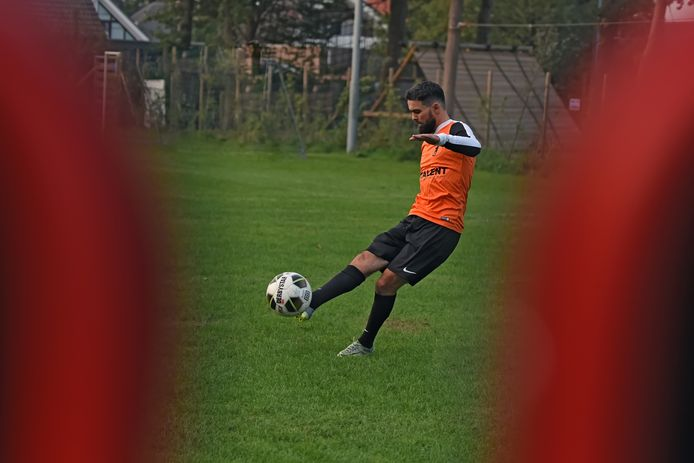 Kruisland-speler Ahmed Didi.